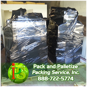 Pack and Palletize, Palletizing Services, Packing and Palletizing by Packing Service Inc