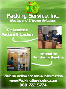 Packing Services, Packing Boxes, Full Moving Services by Packing Service Inc (blog image)