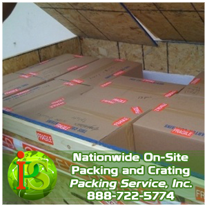 Packing and Crating, Crating Services, Pack and Crate with Packing Service Inc