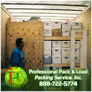 Packing and Loading, Packers and Loaders, Pack and Load with Packing Service Inc
