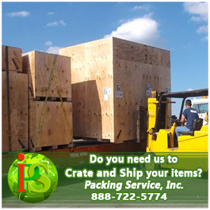 Crate and Freight, International Custom Crating by Packing Service Inc