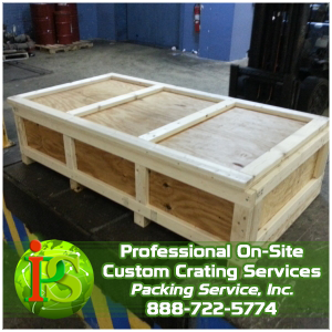 Packing and Crating, Crating Company, International Custom Crating by Packing Service Inc