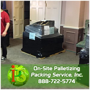 Domestic Palletizing Services by Packing Service Inc