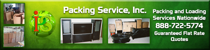 Packing and Loading Services, Pack and Load, Packers and Loaders of Packing Service Inc
