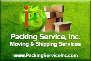 Moving and Shipping Service professionals of Packing Service Inc