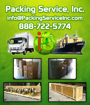 Professional Custom Wooden Crating and Shipping Services by Packing Service, Inc.