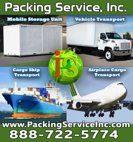 Domestic and InternationalShipping by Packing Service, Inc - 115