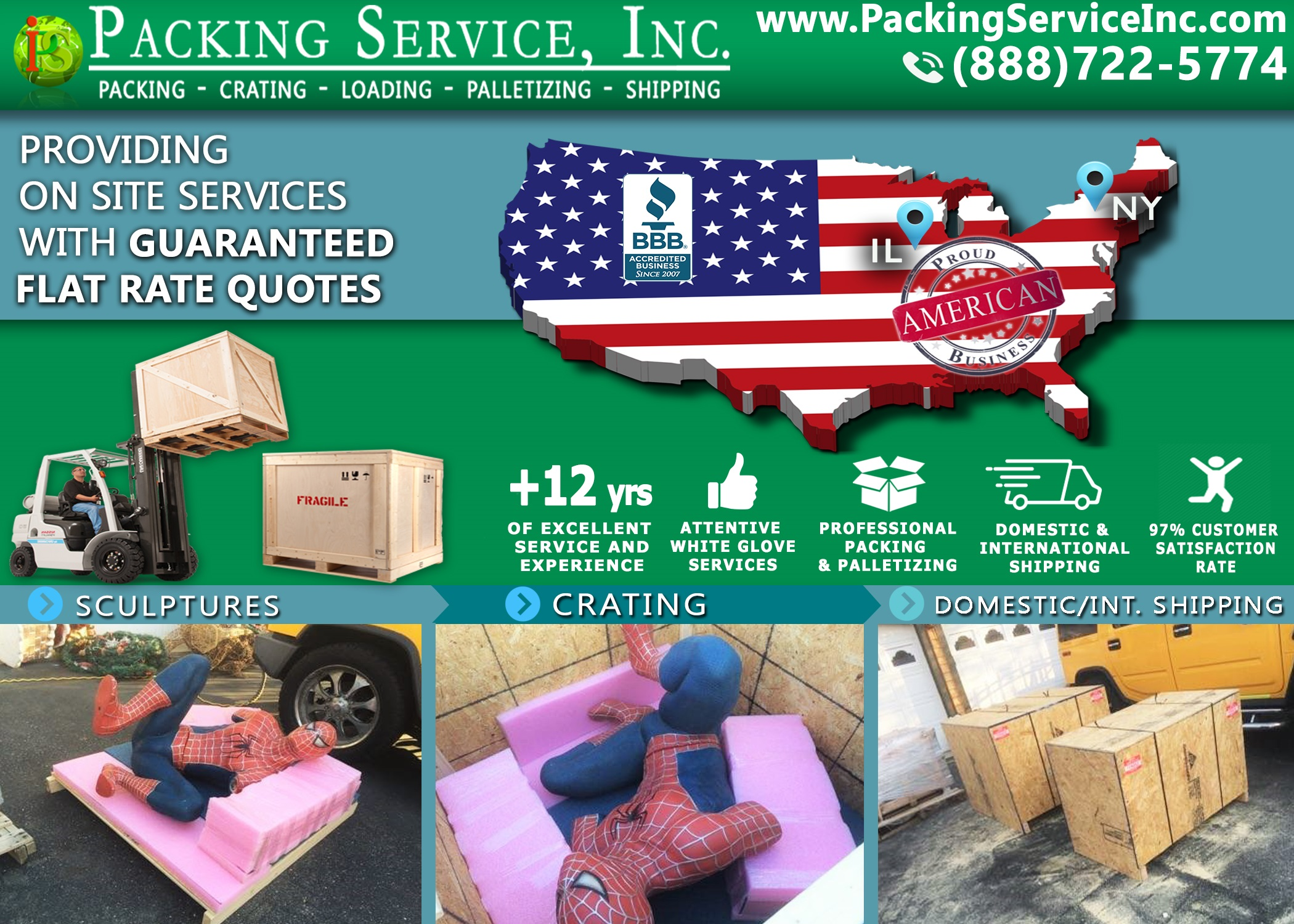crating-spiderman-statue-and-shipping-from-new-york-to-illinois-with-packing-service-inc-424