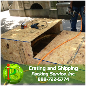 Our professional team of craters will arrive on-site and build custom wooden boxes around your items right before your very eyes. Whether we are preparing custom wooden boxes for industrial equipment, machinery or furniture; PSI will accomplish this task in a fraction of the time it will take those other guys. The level of professionalism and respect we demonstrate to our customers will leave you beyond satisfied. Remember with every service we offer, it is always at one guaranteed flat rate quote! Packing Service, Inc. is the professional Crating Company that builds custom wooden boxes on-site that are specifically tailored to the dimensions of your items.