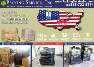 Wrapping and Palletizing Florida to Illinois