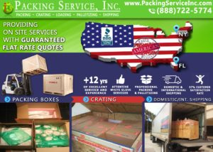 Shipping company, Wooden Crates, Packing Boxes Packing Service, Inc.